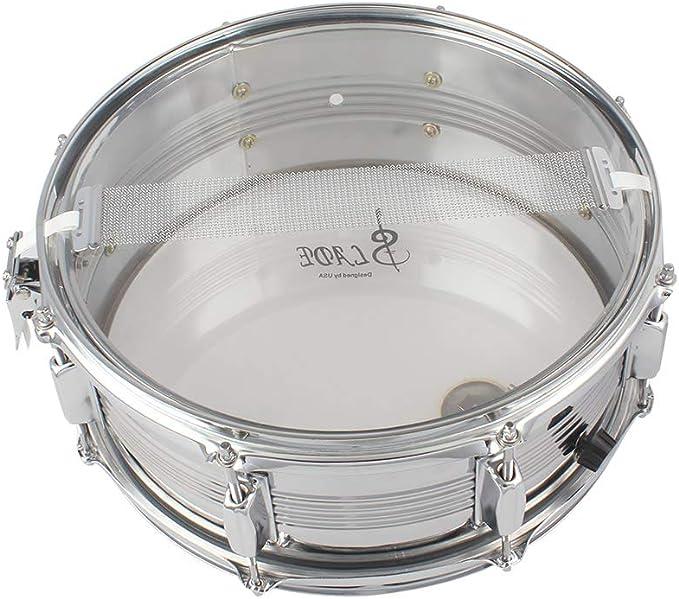 2 unidades Alambre para tambor de acero 24 hebras para tambor de caja de 14 pulgadas
