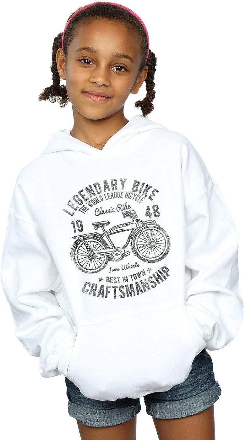 Drewbacca Girls Classic Bicycle Hoodie