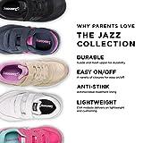Saucony Boys' Baby Jazz HL Sneaker, Grey/White, 4