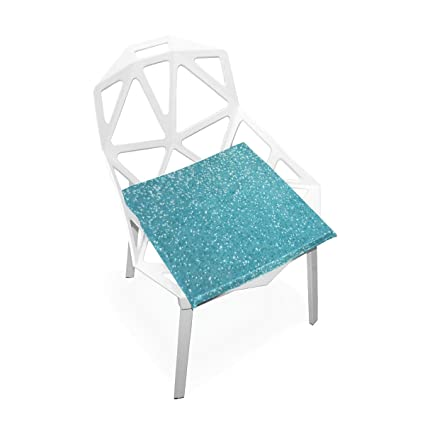 Amazon Com Seat Cushion Light Blue Glitter Chair Cushion Offices
