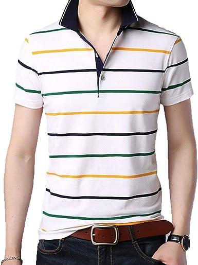 BOLAWOO Polo Camisa para Hombre De Verano con Deportes Mode ...