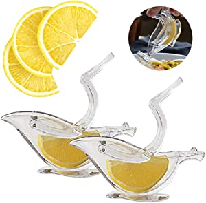 Press Art Lemon & Lime Squeezers For Dinner Plate Elegance - Keeps Seeds From Falling Out - Dishwasher Safe 2Pcs