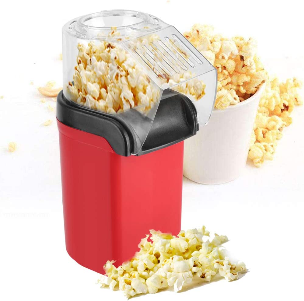 Amazon.com: Popcorn Maker, Hot Air Popcorn Maker, Household Air Popped  Popcorn Maker Electric Home Use 1200W: Kitchen & Dining