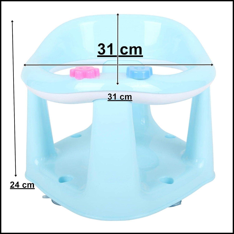sicheres Baden 3-in-1-Baby-Badesitz BPA-frei Essen und Spielen