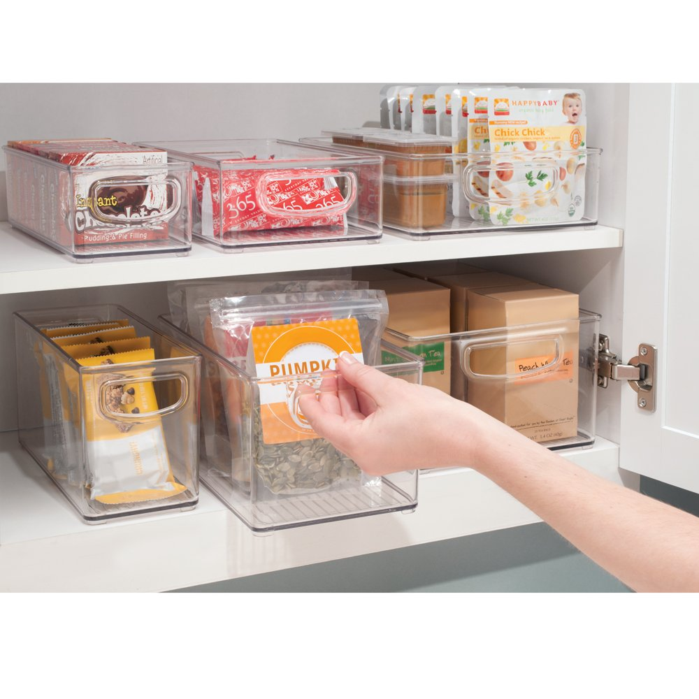 Large Clear Food Storage Container Kitchen Pantry