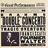 """Brahms: """"Double"""" Concerto for Violin and Cello in A Minor, Tragic Overture (Great Performances)"""