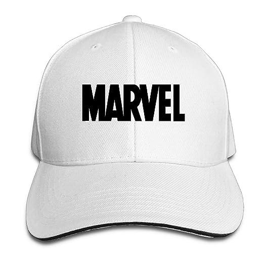 Amazon.com  Couple Baseball Cap Marvel Print Mens Womens Hip Hop Baseball  Caps Adjustable Snapback Caps Hats Man Femal Hat Black  Clothing 732a3315dea1
