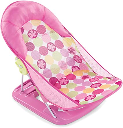 Summer Infant Deluxe Baby Bather Circle Daisy, Pink (Old Model)