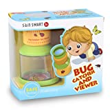 SainSmart Jr. Kids Bug Catchers and Viewer, Insect Microscope, Adventure Magnifier, Backyard Nature Exploration Tool for Children's Day Children's Day Gift