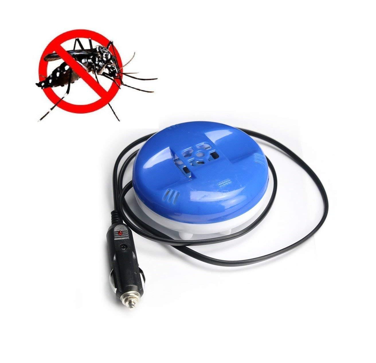 Repellente Elettrico per Insetti Dispositivo Repellente per Prese accendisigari con Cavo Flessibile zanzare e Insetti 12 V BEEAUTO Tablet Non Inclusi