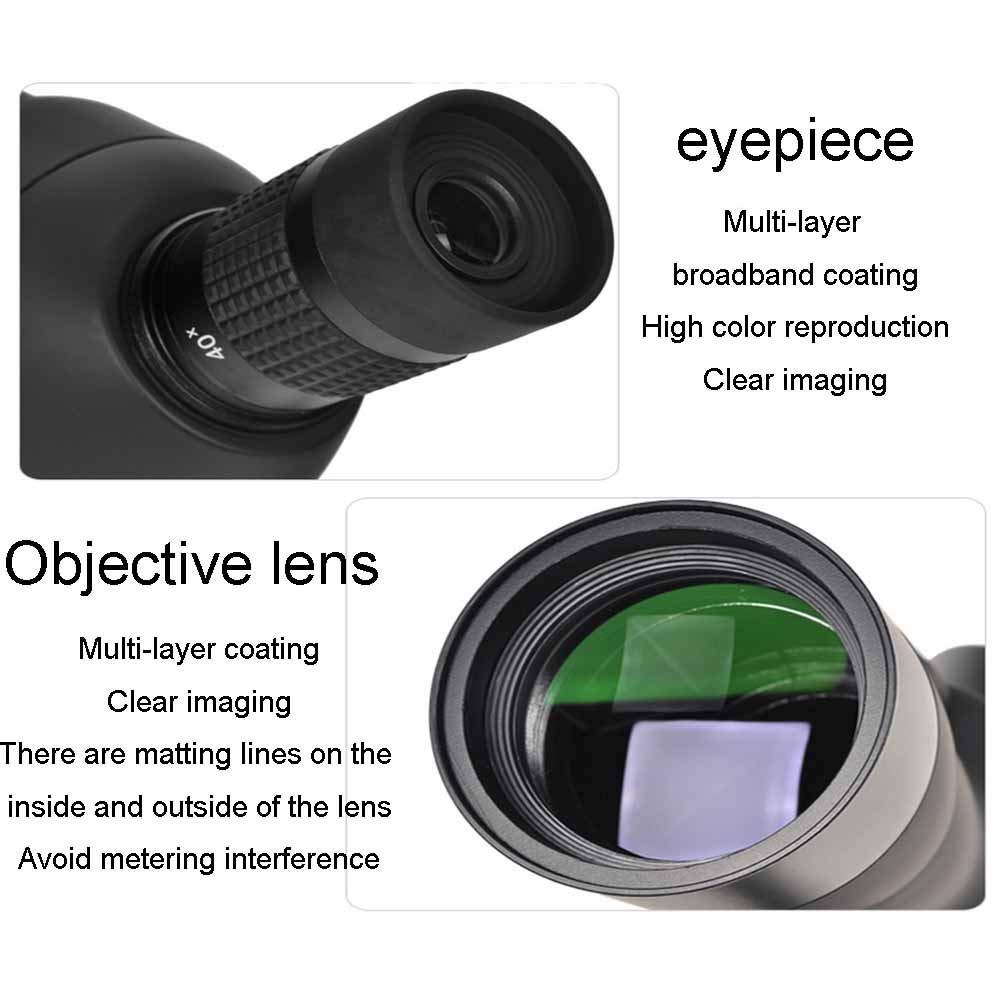 Qys 20-60x60 monocular telescopio de Gran diámetro visión de Alta ...