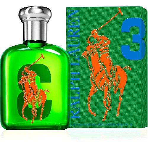 The Big Pony Collection 3 by Ralph Lauren for Men Eau De Toilette Spray, 2.5 Ounce ()