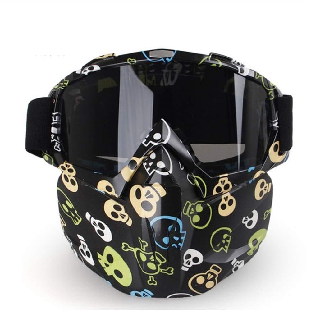 QA.SPG Gafas de Moto máscara Gafas Senderismo Ojo Protector ...