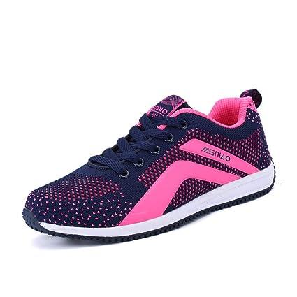 Calzado deportivo para damas, 2018 The New Spring Lovers Zapatillas de deporte de malla Calzados