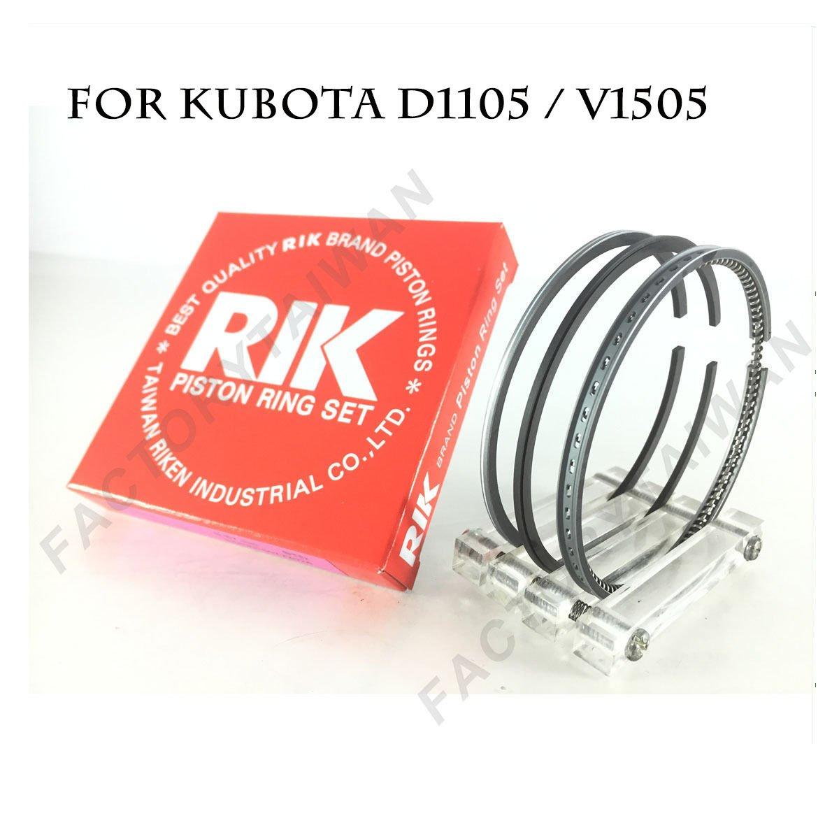 Riken Piston Ring STD 78mm for KUBOTA D1105 / V1505 Riken Taiwan