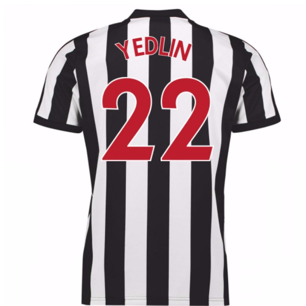 2017-18 Newcastle Home Football Soccer T-Shirt Trikot (Deandre Yedlin 22)