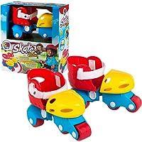 ColorBaby - Patines infantiles ajustables, 17-21 cm (42683)
