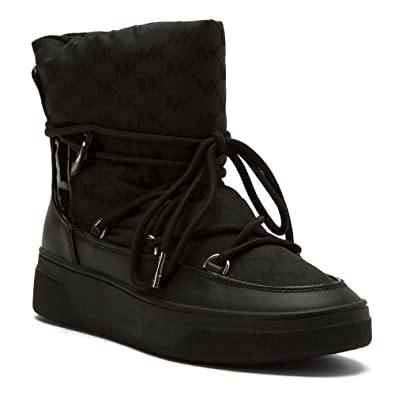 4fc683f96b974 Amazon.com | Michael Michael Kors Women's Nala Ankle Boot Black WP ...