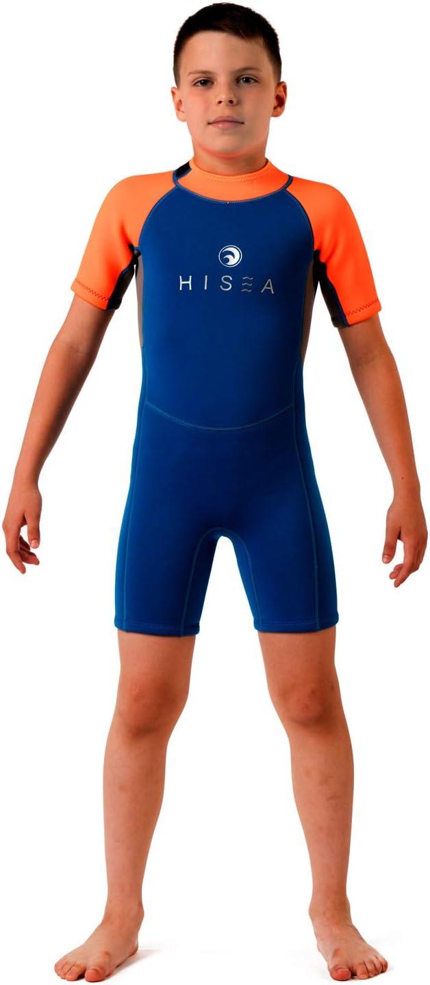 Scubadonkey Hisea 2.5mm Neoprene Shorty Wetsuit for Kids
