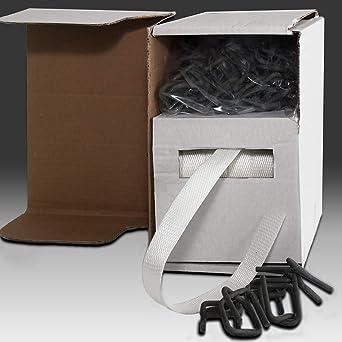 Linder - Juego de mini cintas de fleje (25 mm, en cajas blancas neutras