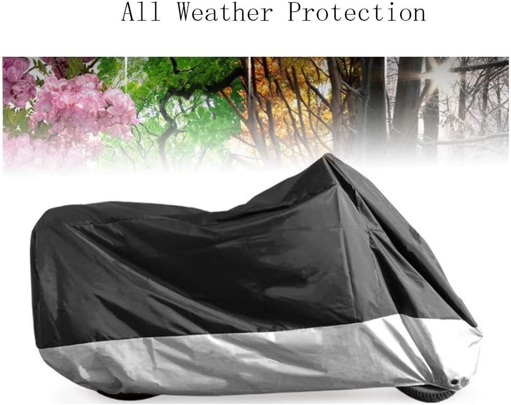 Color : B, Size : Burgman 125 HWHCZ Compatible with Motorcycle Cover Suzuki Burgman 125,190T Oxford Cloth Waterproof Motorbike Cover,Provides 24//7 Protection Indoor//Outdoors