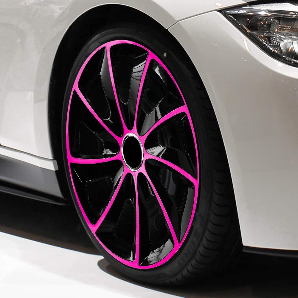 CM DESIGN STIG EXTRA Pink//Schwarz f/ür Fiesta MK4 JAS JBS 15 Zoll passend f/ür Fast alle Ford z.B