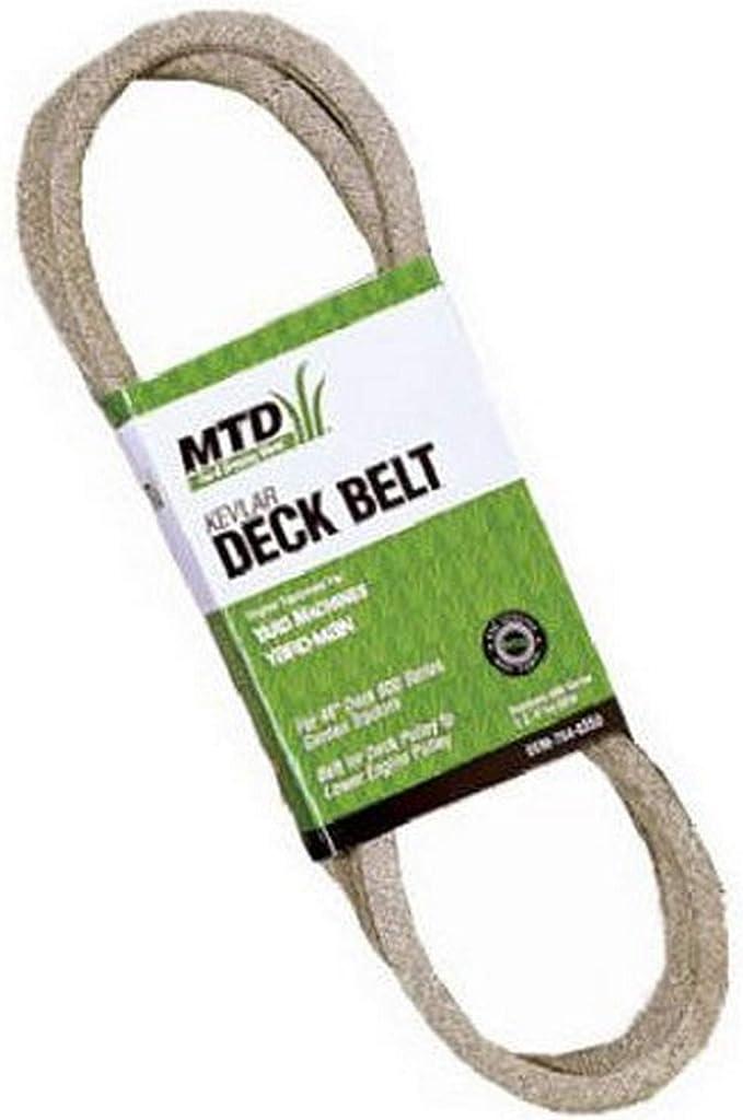 13 x 2286 No 144 Mastercut//Lawn Tractor V-Belt AA90 for MTD 754-04175