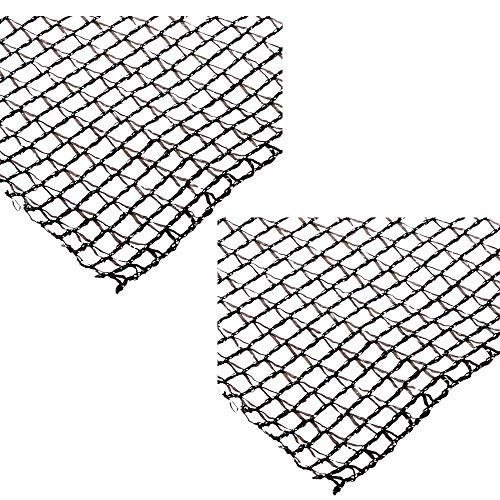 DeWitt Deluxe 20 x 30 Foot Heavy Duty Fish Pond Netting Cover, Black (2 Pack)