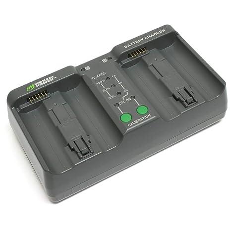 Amazon.com: Wasabi Power Dual Cargador de batería para Nikon ...