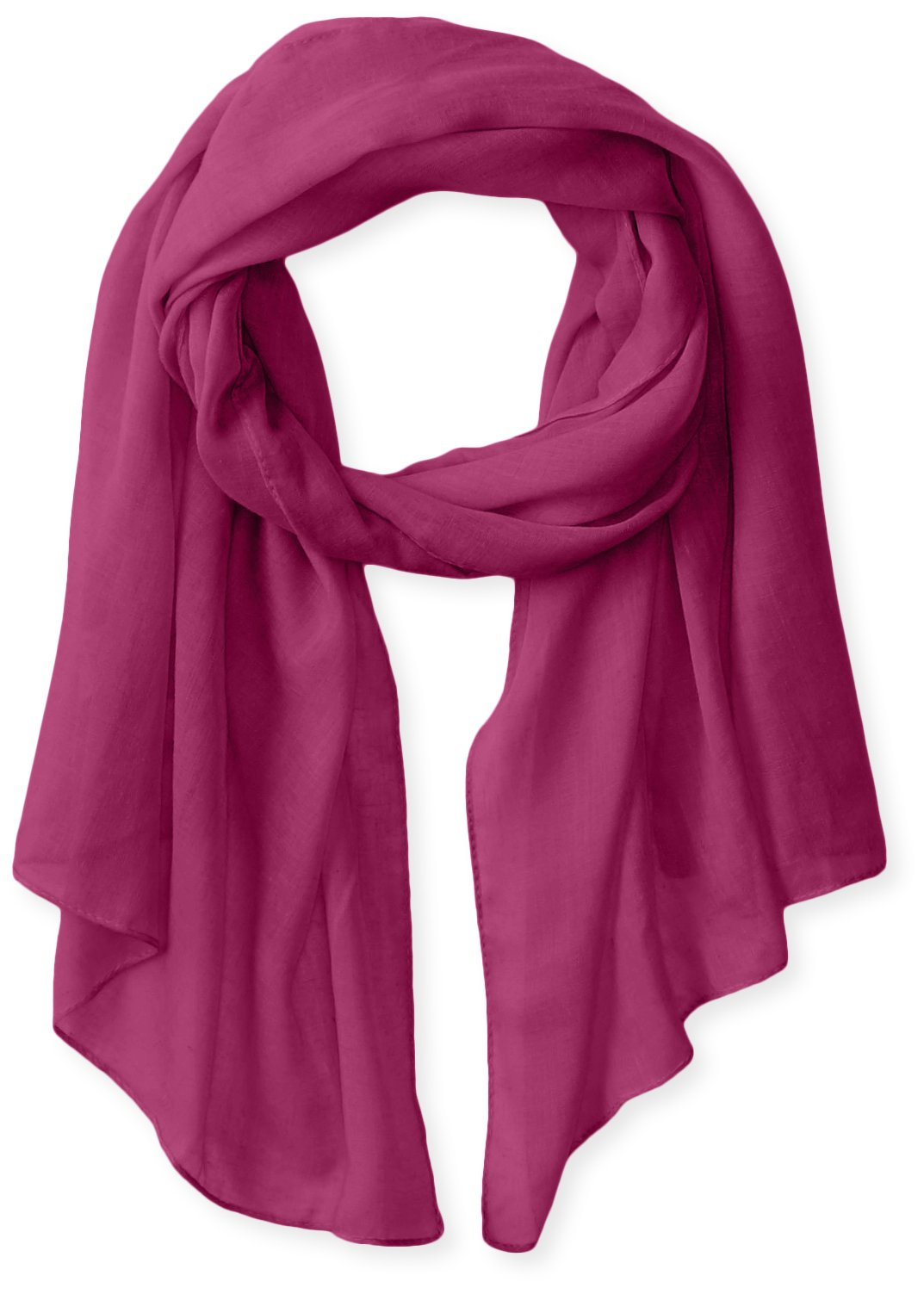 White Sierra Bug Free Gauze Scarf, Orchid, 1 Size