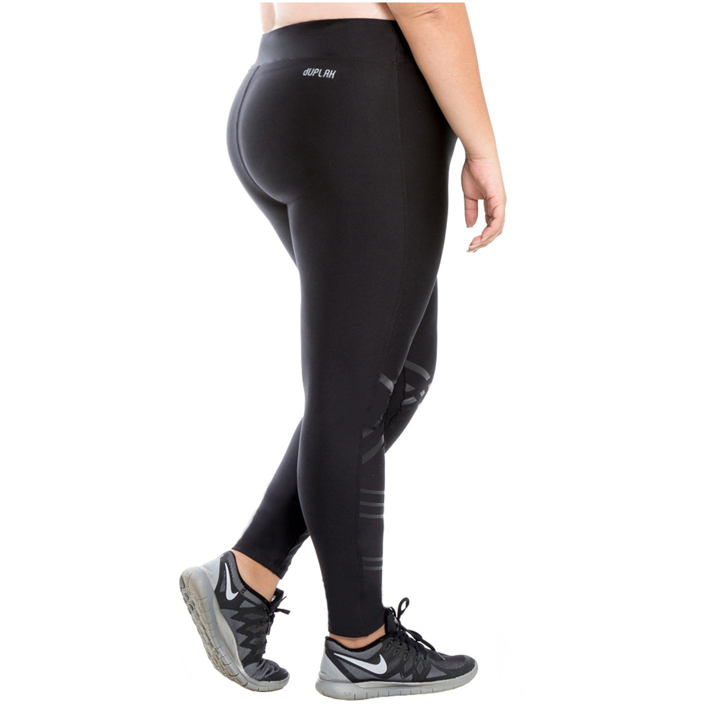 Duplah Rio Womens Fashion Plus Size Leggings Workout Pants ...