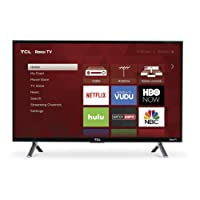 "TCL 28S305 28"" 720p Roku Smart LED TV (2017 Model)"