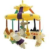 SHILOH Baby Crib Decoration Newborn Gift Plush Musical Mobile (The Three Little Pigs)