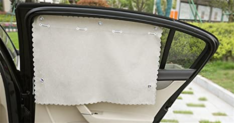 Zheyanglian biancheria cotone lino tende per auto tendalino