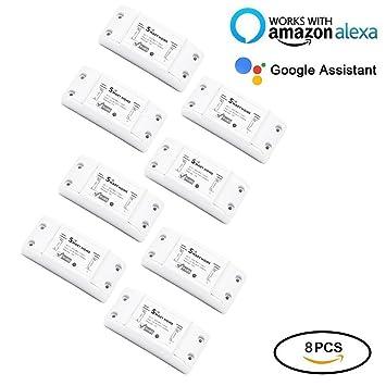 Kidult Smart Home Wifi Fernbedienung Drahtlos Strom Schalter Switch