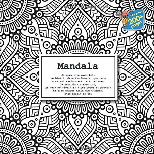 Mandala Je Veux Rire Avec Toi Me Blottir Dans Tes Bras Et