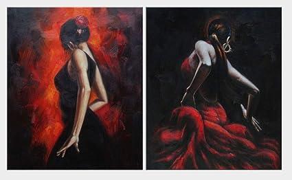 Flamenco Painting Art