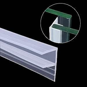 KuTi Kai - Junta para puerta de ducha (6 mm, 8 mm, 10 mm, cristal ...