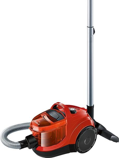 Bosch BGC1U300 Aspirador sin bolsa, diseño Ultra-Compacto, Filtro HEPA Lavable, 1.4 litros de capacidad, color rojo y negro: Amazon.es: Hogar