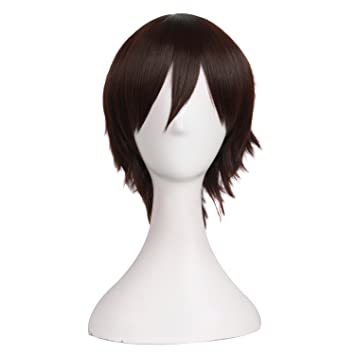 MapofBeauty Men's Short Straight Wig Cosplay