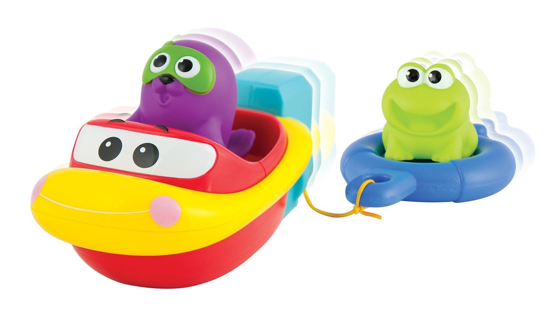winfun 7116-ni Richmond Toys Pull und Go Boot-Set, Mehrfarbig
