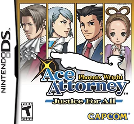 Amazon Com Phoenix Wright Ace Attorney Justice For All