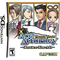 Phoenix Wright: Justice For All - Nintendo DS