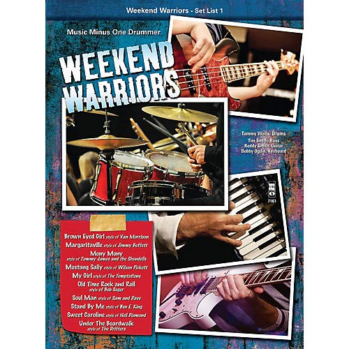 Weekend Warriors - Set List 1, Drums Music Minus One Series Softcover with CD Performed by Various Pack of 2