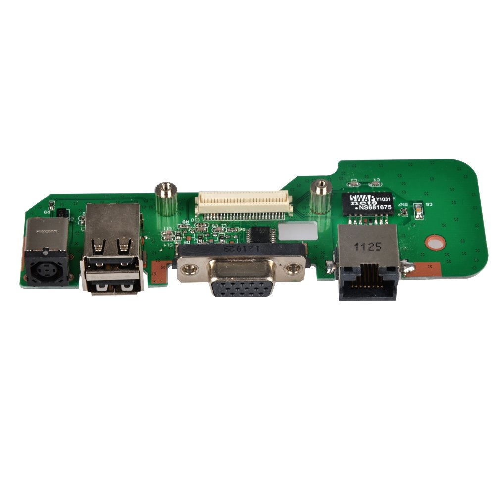 Eathtek Replacement DC Power Jack Charger Board for DELL INSPIRON 1545 DR1 series, Compatible with part number 48.4AQ20.011 08530-2 00829