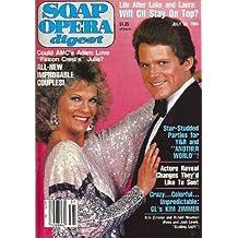 Kim Zimmer, Robert Newman, Guiding Light, David Sederholm, Photo Special: Another World Celebrates 20 Years - July 31, 1984 Soap Opera Digest Magazine