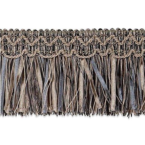 Expo International Slate Cut Ribbon Fringe Trim, 20 yd, Multicolor by Expo International