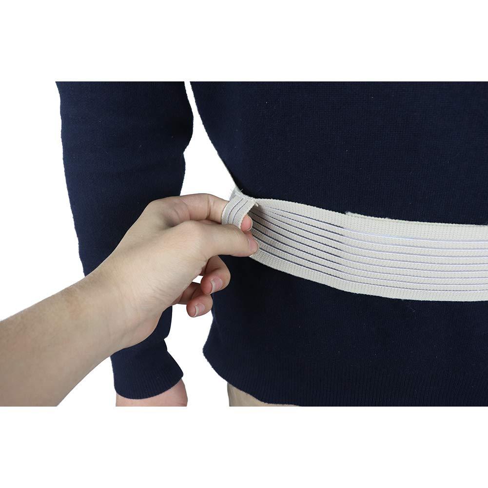 Fushida 1PCS Catheter Fixation Device Abdpminal Dialysis Belt Patient Drainage Tube Belt Medical Professional Nursing for Patients (Large) by Fushida