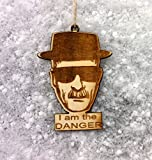 Breaking bad HEISENBERG Ornament HEISENBERG Christmas Tree Ornament Walter White