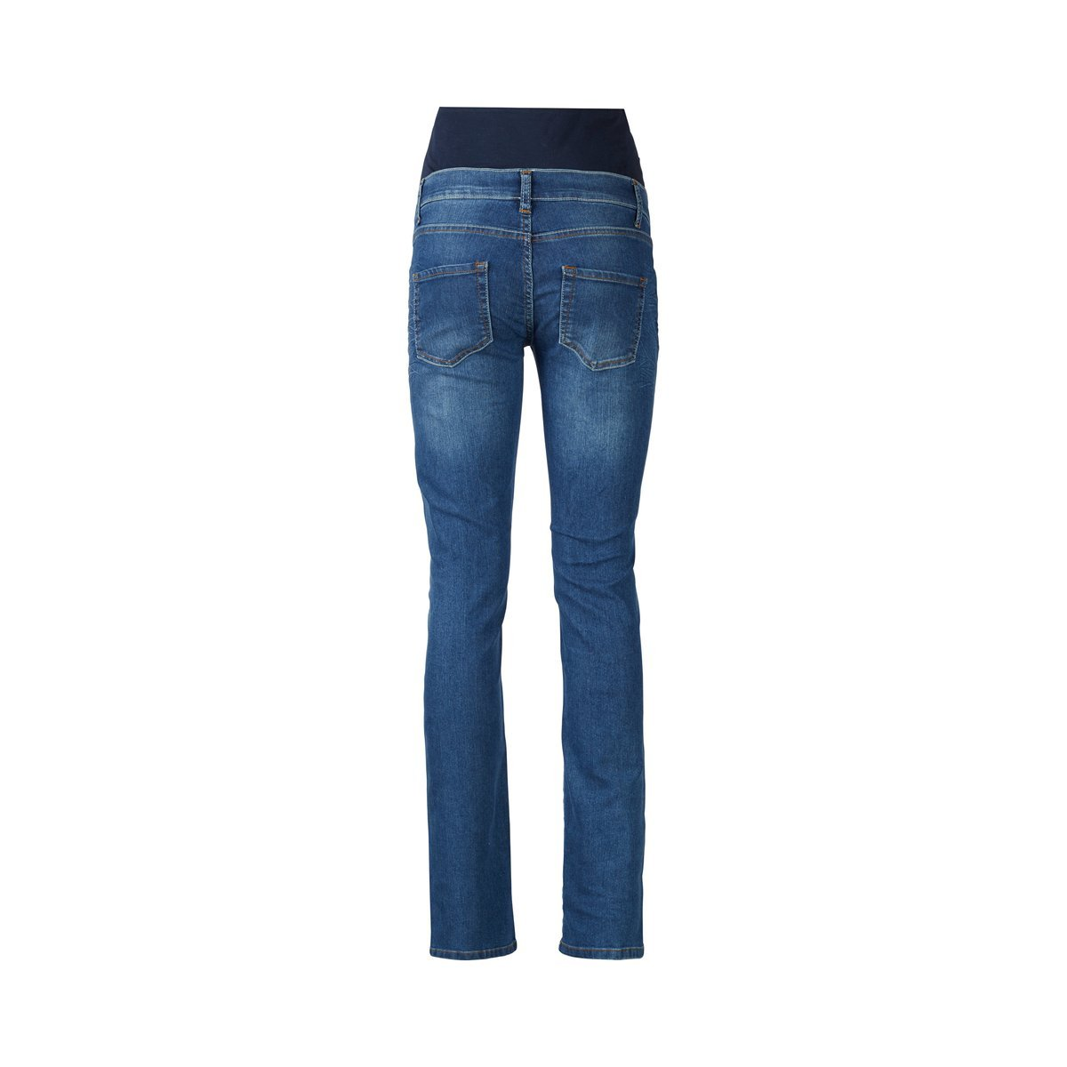 2HEARTS Umstands-Jeans We Love Basics//Umstandsmode Damen//Schwangerschaftshose//Blue Washed